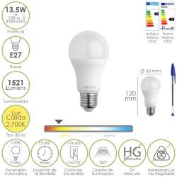Anilla Baño Oval 18 mm. (Bolsa 100 Unidades) Blanca