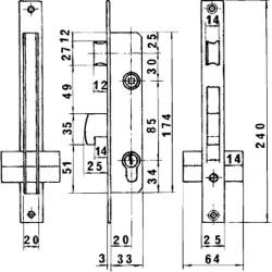 Tapajuntas Adhesivo Para Moquetas Metal Roble   98,5 cm.