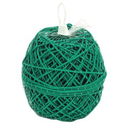 Macarron Entutorar PVC Verde 3,0 mm. 1 kg.