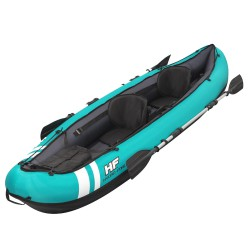 Kayak Rigido 330x86 cm. con Asientos, Remos  y Bomba hasta 2 personas.
