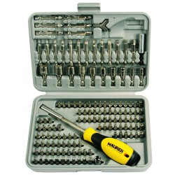 Juego Puntas Maurer 1/4 25-50mm Con adaptador 138 piezas